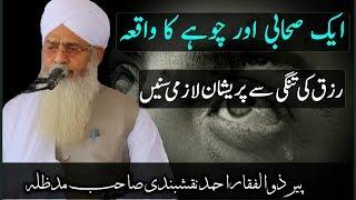Aik Sahabi Aur Choha Rizq Ki Tangi Walon Keliye Peer Zulfiqar Ahmad Naqshbandi