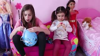 Playing with Balloons - Learn Colors for Kids