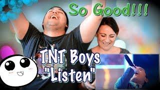 TNT BOYS - LISTEN by Beyonce (Little Big Shots UK)  COUPLES REACTION