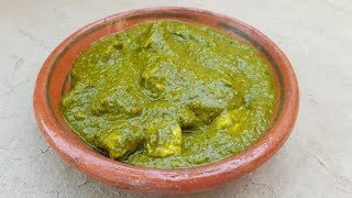 Palak Paneer Recipe | Spinach and Cottage Cheese Recipe by Mubashir Saddique | Village Food Secrets
