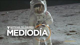 Se Cumple Medio Siglo Del Primer Viaje A La Luna   Noticias Telemundo