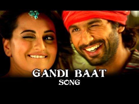 Gandi Baat Song ft. Shahid Kapoor Prabhu Dheva & Sonakshi Sinha R Rajkumar