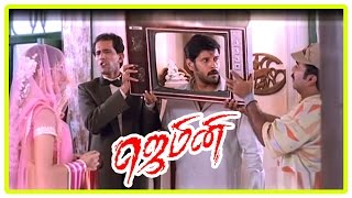 Gemini Movie Scenes | Vikram falls for Kiran Rathod | Kiran helps Vikram | Dhamu | Thennavan