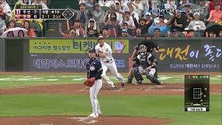 9회말 2아웃, 한화의 야구 (180522 두산전)