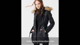 Dilvin Kışlık Kadın Kaban-Mont Modelleri