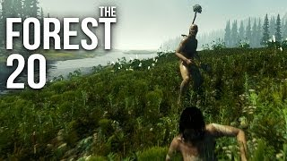 THE FOREST [HD+] #020 - Massenkeile ★ Let's Play The Forest