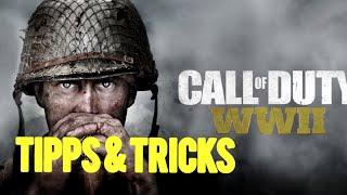 COD WW2 : SO WERDET IHR ZU 100% BESSER! - COD WW2 TIPPS & TRICKS! (German/Deutsch) ❤️😍