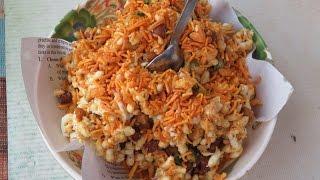 Street food of Dhaka | Alam vai er Muri Vorta, Shahbag | Bangladeshi Food