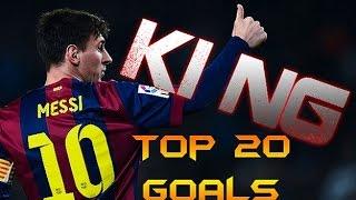 Lionel Messi ● Top 20 Goals ● 2014/2015 ● HD