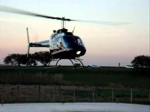 Pouso Bell 206 Jet Ranger Amarais