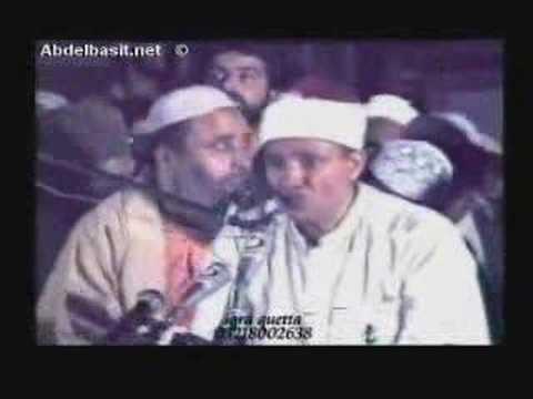 Qari Abdul Basit Surah Haqqah BREATHTAKING