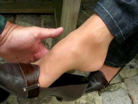 pov feet shoeplay and teasing