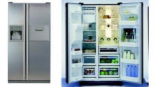 Side By Side Kühlschrank Stromverbrauch : Samsung rs fhcsl side by side kühlschrank montage optik