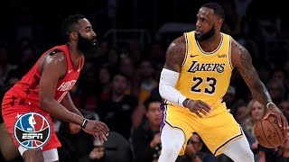 LeBron James leads Lakers