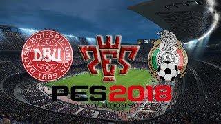 Denmark vs Mexico International Friendly match HD Pes 2018