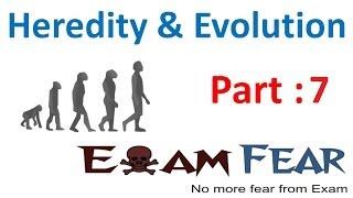 Biology Heredity & evolution part 7 (Homologous, heterologous) CBSE class 10 X