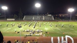 Cerritos Regiment of Gold performance at the Oceanview Football Game in 4K (Ultra HD)/3D