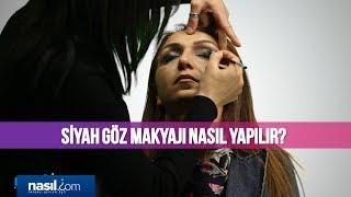 Siyah Göz Makyajı Nasıl Yapılır? | Bakım-Güzellik | Nasil.com