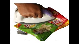 Reuse Empty Packets | Best out of Waste | Recycling plastic bags | DIY home Decorating Idea