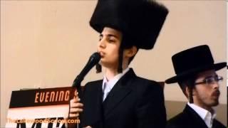 Motty Steinmetz Shira Choir at Lakewood Tomchei Shabbos Dinner - The Lakewood Scoop