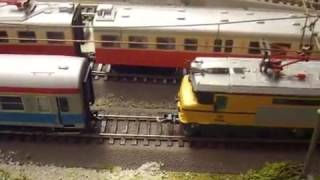 from luca''s the Balkan Layout HO Scale :-The slovenian SZ 363 005 model