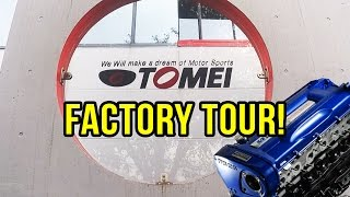Hanging out with Tomei in Japan! - Factory Tour! | VLOG