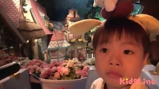 Sanrio キティちゃん シナモンロール 会ったよ♫ 食べたよ♫ サンリオピューロランド お出かけ こうくんねみちゃん Hello Kitty Sanrio Puroland
