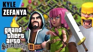 clash of clans di gta??? - Grand Theft Auto extreme Indonesia (DYOM #2)