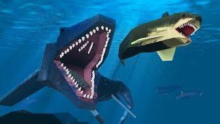 Minecraft   ANGRY PREHISTORIC JAWS! (Jurassic World Adventure)