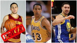 10 NBA players Who Failed To Follow Their Father