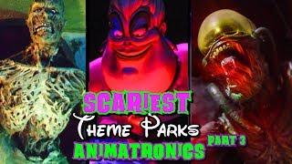 Top Scariest Animatronics Part 3