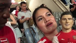 Arsenal 3 Bayern Munich 2 (Pens) | Gooner From Thailand Has Crush On Giroud!
