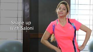 Dance Exercise Bhangra Style | Saloni