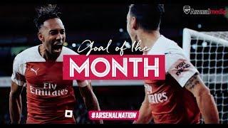 Ozil, Ramsey, Aubameyang & Xhaka | Arsenal Goals of the Month | October 2018