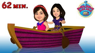 Row Row Row Your Boat | Popular Nursery Rhymes for Kids, Children and Babies | Mum Mum TV
