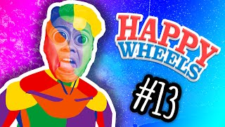 EXPLORING THE 10TH DIMENSION! | Happy Wheels #13