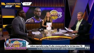 UNDISPUTED | Skip and Shannon DEBATE: Is it Championship or bust for LeBron & Lakers this season?