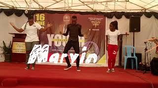 Afro dance crew wanaza by Pr Wilson Bugembe