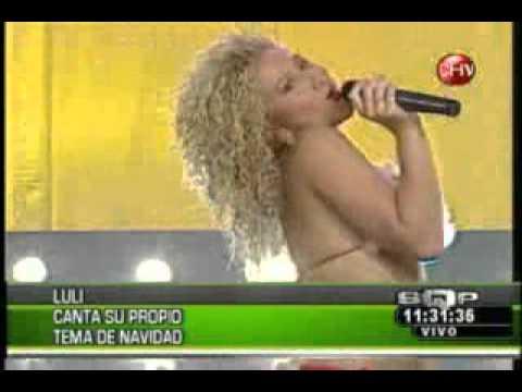Luli Nicole Moreno y su canción de navidad