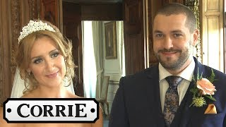 Behind the Scenes: Eva and Aidan's Wedding Part One - Coronation Street