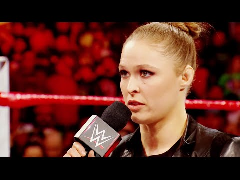A special look back at Ronda Rousey s Raw debut