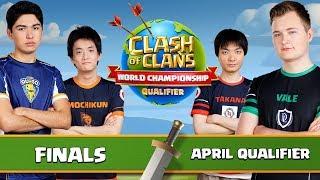 World Championship - April Qualifier - FINALS - Clash of Clans