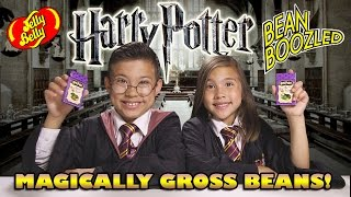 HARRY POTTER BEAN BOOZLED CHALLENGE! Gross Bertie Bott
