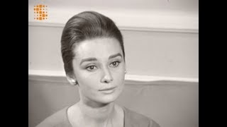 Audrey Hepburn French Interview 1959