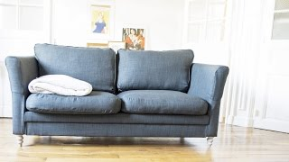 HOME DIY : How-to... reupholster your old couch?