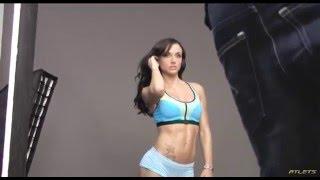 Beautiful fitness model Girl (María Hernandez)