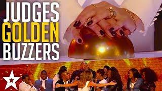 Best GOLDEN BUZZER Moments on Britain's Got Talent Part 1 | Got Talent Global