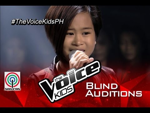 """The Voice Kids Philippines 2015 Blind Audition: """"Wrecking Ball"""" by Amira"""