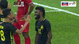 MAS 3-1 MYA | Bolasepak | Kumpulan A | KL 2017 | Astro Arena