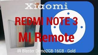 Hindi Redmi Note 3 IR Remote Demo